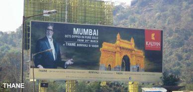 A Kalyan Jewellers billboard in Mumbai